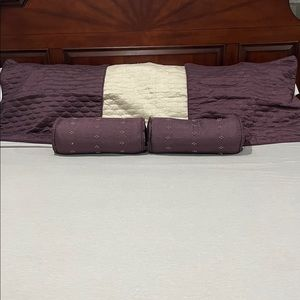 Euro Square Pillow Cases & Neck Roll Pillows